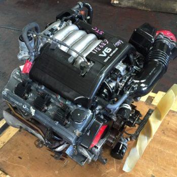 Isuzu 6VD-1 DOHC engine