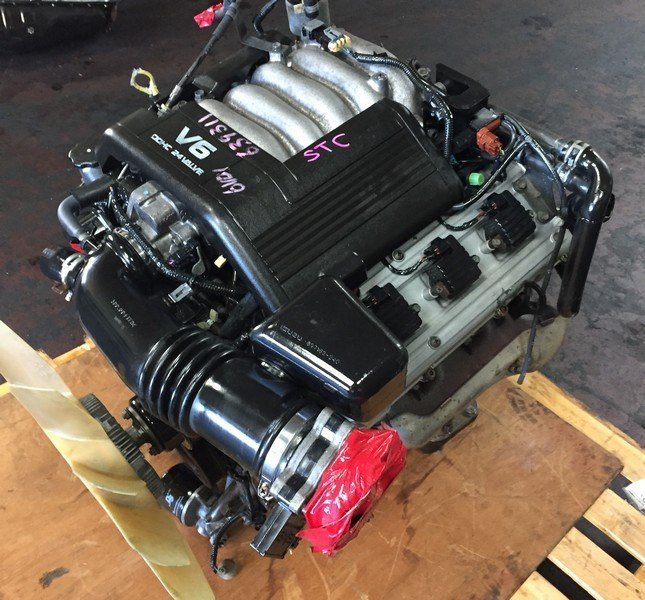 Isuzu 6VD-1 DOHC engine