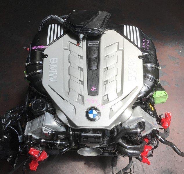 used BMW 750i engine