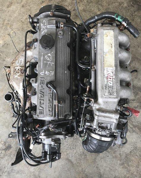 mazda 626 F2 FWD Turbo engine