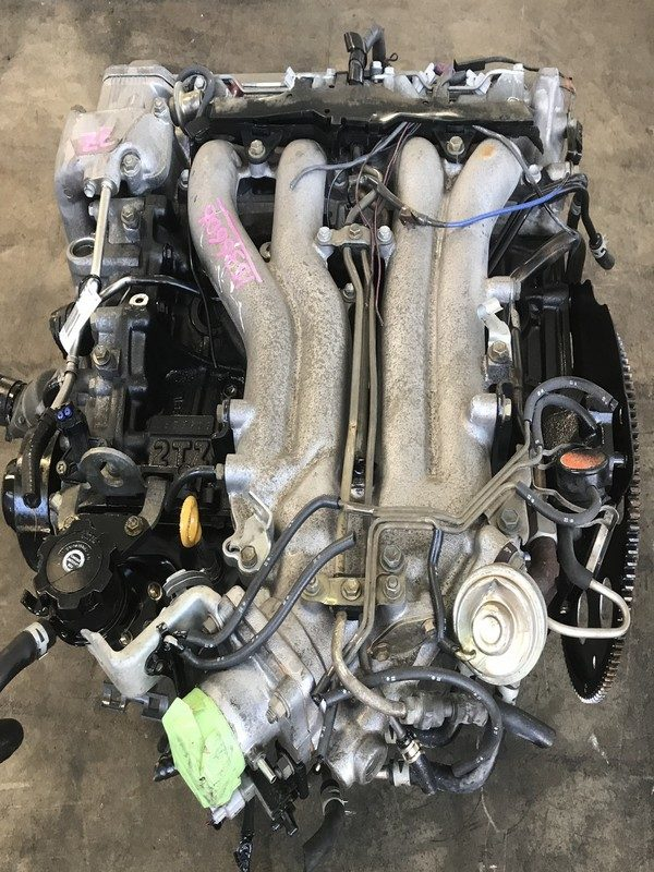 JDM Toyota Previa Supercharged 2TZE engine